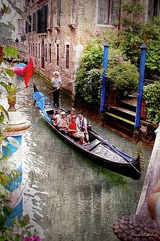 Venice - On the Canal by Brian Lukas
