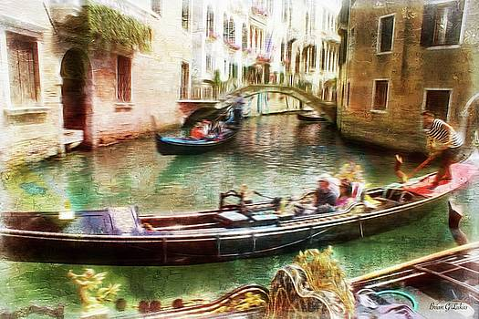 Venice On the Canals by Brian Lukas