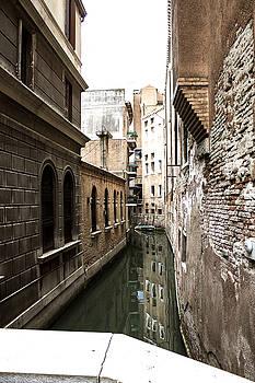 Venice one way street by Milan Mirkovic