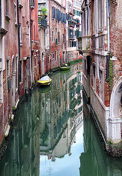Venice Reflections by Dave Mills