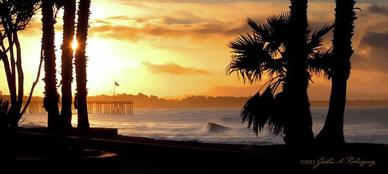 Ventura California Sunrise by John A Rodriguez