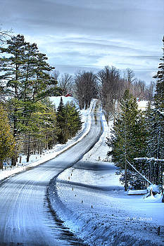 Deborah Benoit - Vermont Country Landscape