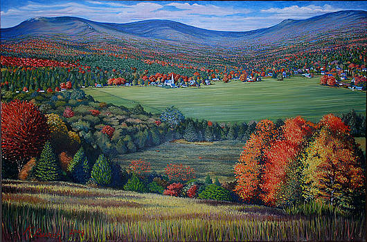 Vermont Countryside by Kerry Burch