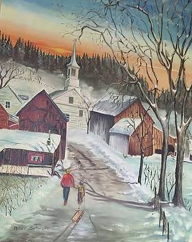 Vermont Village by Peter Suhocke