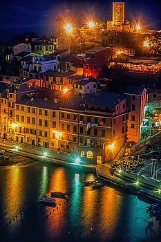 Vernazza Evening by Andrew Soundarajan