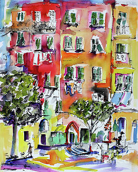 Ginette Callaway - Vernazza Laundry
