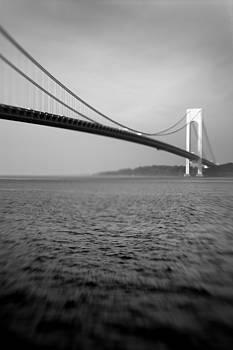 Verrazano Bridge 1 by Tony Cordoza