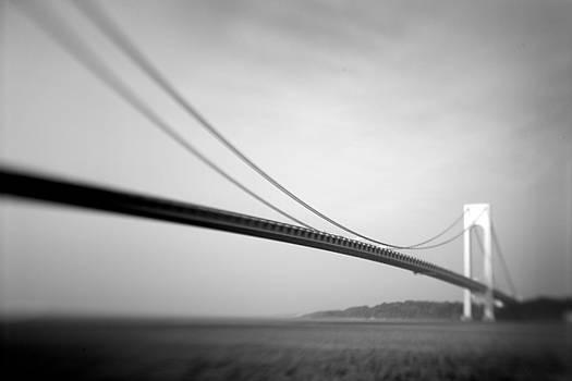 Verrazano Bridge 2 by Tony Cordoza
