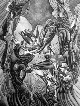 Verschmelzung 1 by Arno Schaetzle