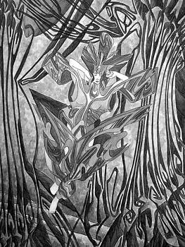 Verschmelzung 12 by Arno Schaetzle