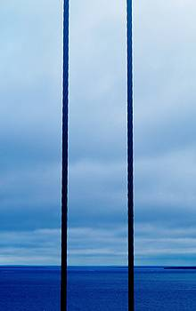 Vertical Cables by Daniel Thompson