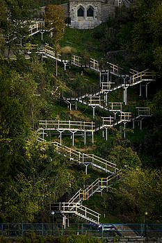 Vertical Stairs by Celso Bressan