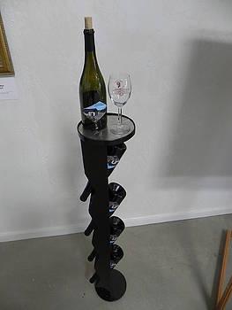 Verticle Winerack by Steve Mudge