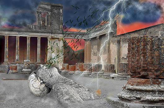 Vesuvius Horror by Maggie Magee Molino