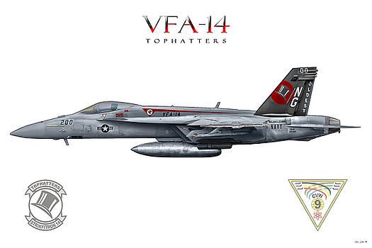 Vfa-14 by Clay Greunke