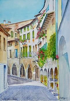 Via Browning Asolo Italy by Dai Wynn