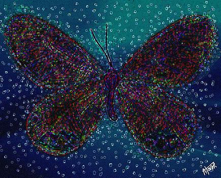 Vibrant Butterfly by Alejandro Tovar