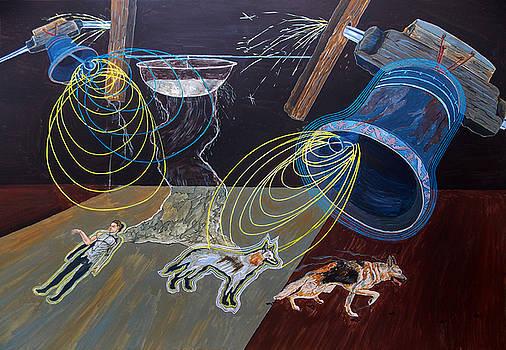 Deus est vibrationis  by Lazaro Hurtado
