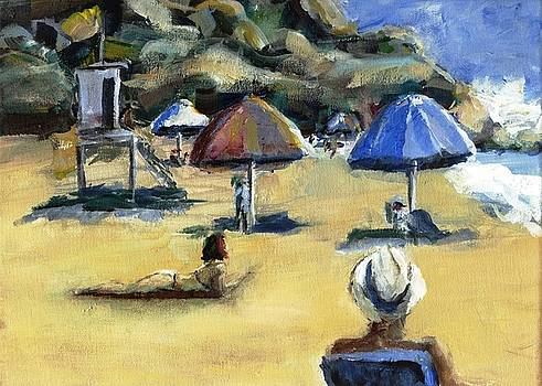 Victoria Beach White Hat by Randy Sprout