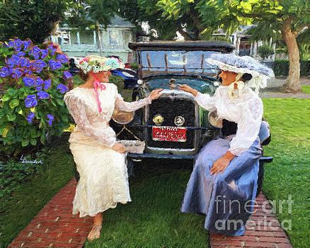 Victorian girls by Linda Weinstock