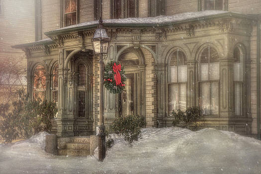 Victorian Holidays - Portsmouth NH by Joann Vitali
