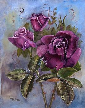 Victorian Roses by Jan Holman