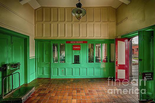 Adrian Evans - Victorian Ticket Office