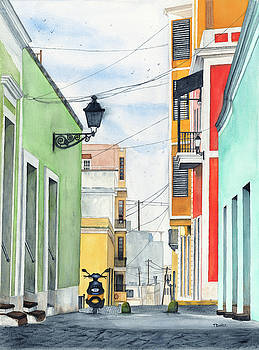 Viejo San Juan by Tom Dorsz