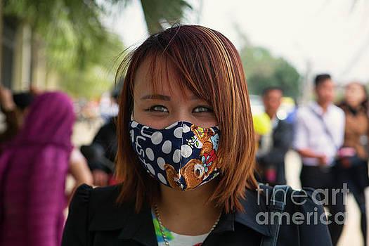 Chuck Kuhn - Vietnamese Woman Mask