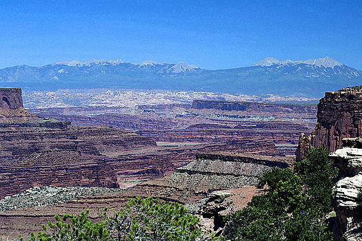 View At Canyonlands by David Hintz