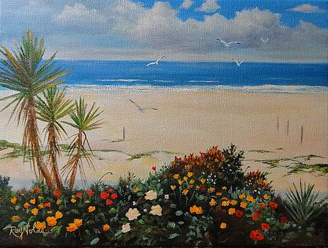 View At Manhattan Beach by Carol Reynolds