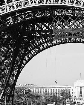 Diana Haronis - View Beneath Eiffel Tower