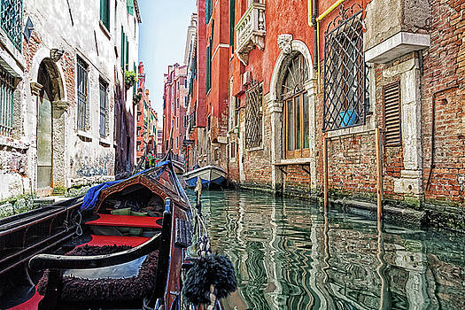 View from a gondola 3 by John Hoey