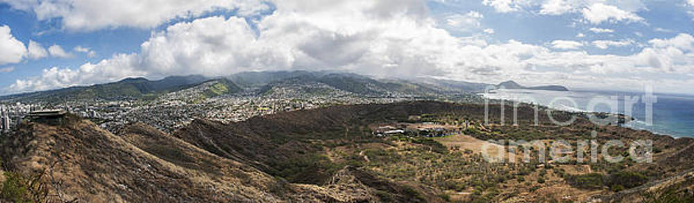 View from Diamond Head by Jason Kolenda