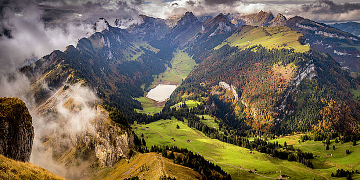 View from Hoher Kasten I by Gretchen Tracy
