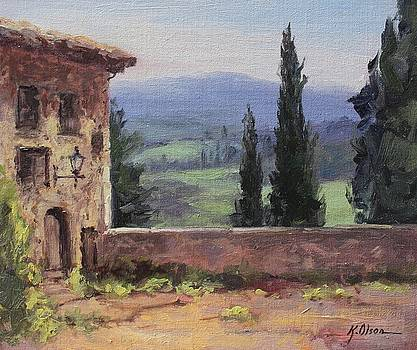 View from San Gimignano by Kristen Olson