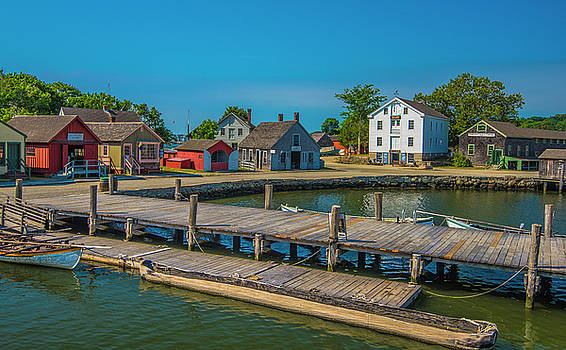 View From the Dock by Steven Ainsworth