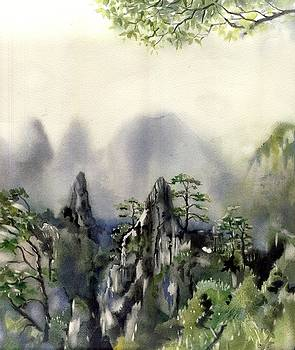 Alfred Ng - view from the mountain