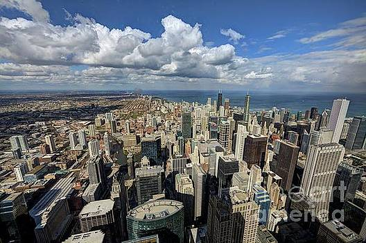 View From The Willis Tower Chicago by Wayne Moran