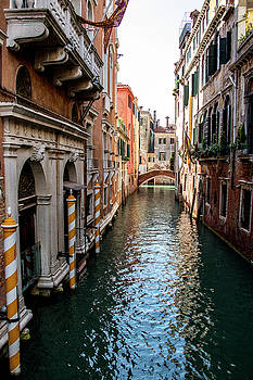 View of a Venice Canal by Jean Haynes
