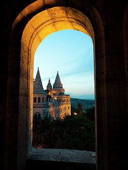 View of Fisherman's Bastion by Rae Tucker