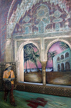 View of Hispaniola from the Alcazar by Barbara Nesin