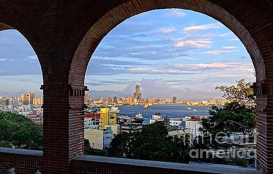 View of Kaohsiung City at Sunset Time by Yali Shi
