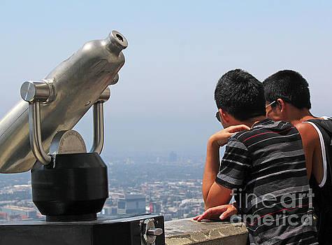 View of L.A. by Cheryl Del Toro