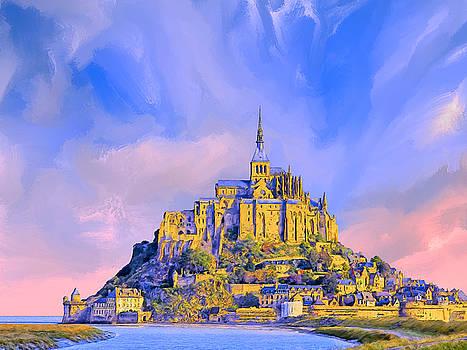Dominic Piperata - View of Mont Saint Michel