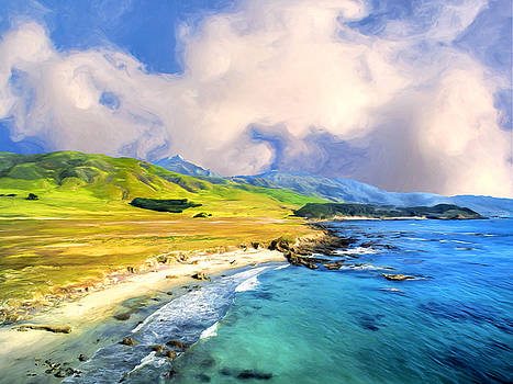 Dominic Piperata - View of Point Sur