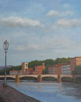 View of the Arno 2 by Jennifer Boswell