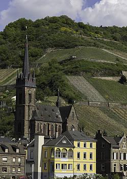 Teresa Mucha - View of Vineyards and St Boniface Parish Church