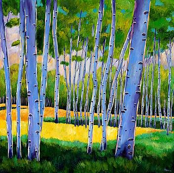 JOHNATHAN HARRIS - View Through Aspen