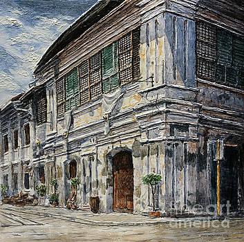 Vigan Houses 2 by Joey Agbayani